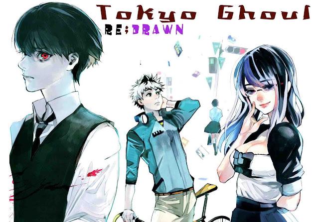 Tokyo ghoul versi terbaru redrawn