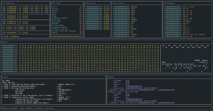 Unicorn-Bios : Basic BIOS Emulator for Unicorn Engine