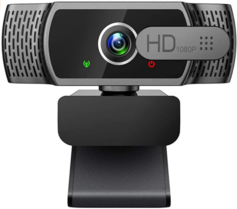 Corlitec 1080P Webcam with Microphone