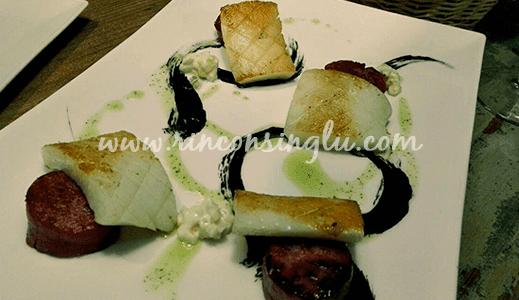 Taberna El Chef del Mar comida