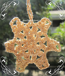 crochet xmas decoration