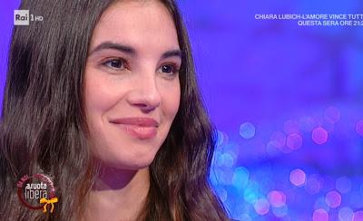 Francesca Chillemi sorriso labbra foto