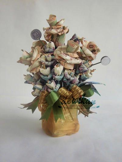 Cara Membuat Bunga Mawar Dari Uang Kertas Untuk Mahar Kreatifitas Terkini