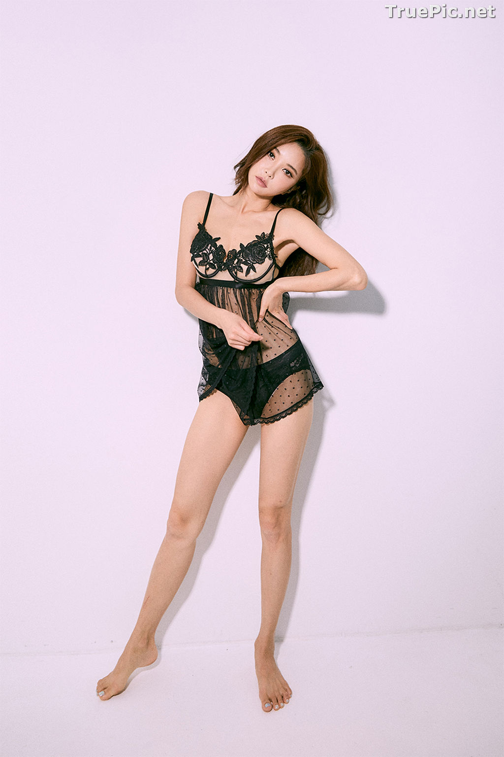 Image Korean Fashion Model – Park Soo Yeon (박수연) – Come On Vincent Lingerie #1 - TruePic.net - Picture-7