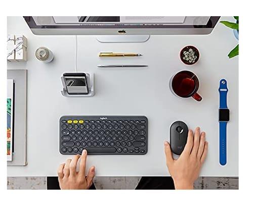 Logitech K380 + M355 Wireless Keyboard and Mouse Combo
