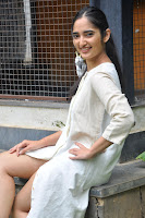Radhika Cute Young New Actress in White Long Transparent Kurta ~  Exclusive Celebrities Galleries 025.JPG