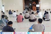 Tingkatkan Pemahaman Agama, Polres Pangkep Gelar Binrohtal di Masjid Al-Ikhlas