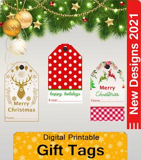 New Christmas Gift Tags
