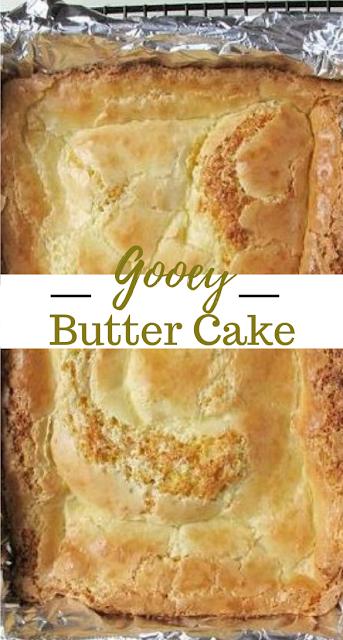 Gooey Butter Cake #dessert