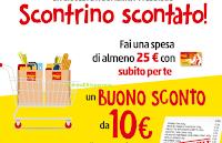Logo Penny Market ''Scontrino scontato'': ricevi buono sconto da 10€