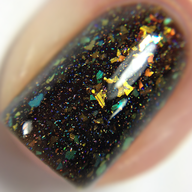 Night Owl Lacquer-Deathly Hallows