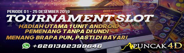 Event Tournament Slot Puncak4d Berhadiah HP dan Uang Tunai