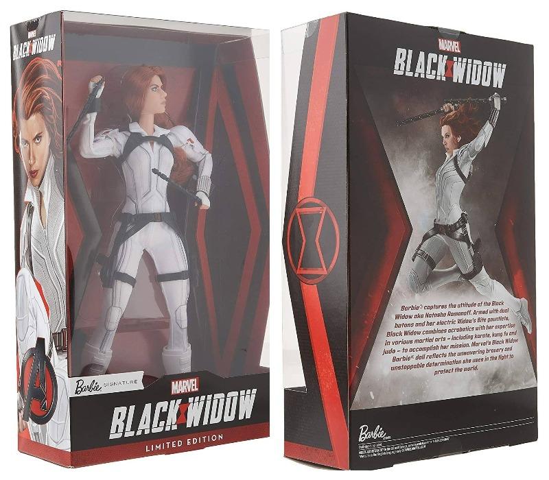 Кукла Черная Вдова Маттел