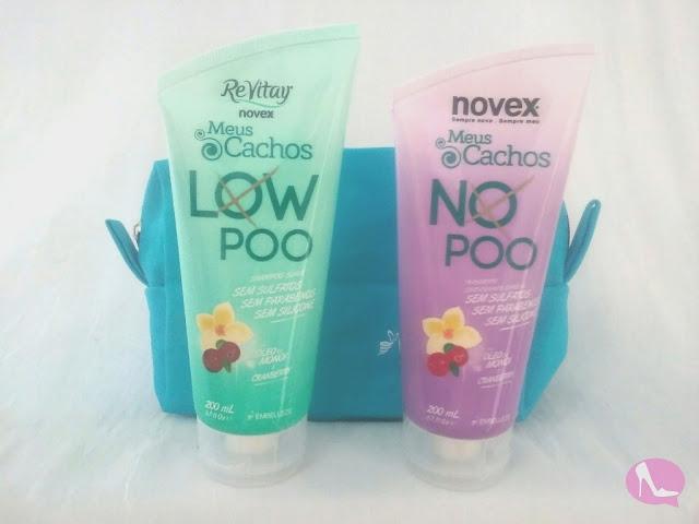 Novex Meus Cachos - No Poo e Low Poo