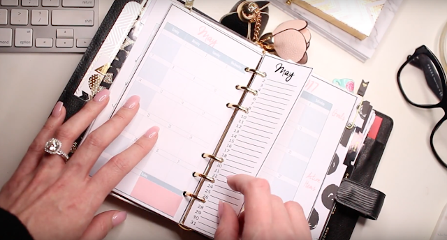 2017 Ultimate Planner Setup in the Louis Vuitton MM Personal Sized Agenda