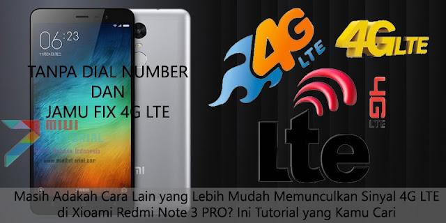 Masih Adakah Cara Lain yang Lebih Mudah Memunculkan Sinyal 4G LTE di Xioami Redmi Note 3 PRO? Ini Tutorial yang Kamu Cari