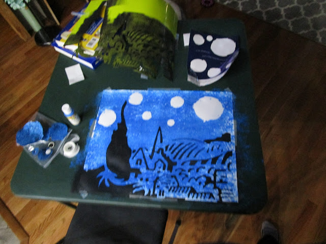 A Glimpse of Normal, A Review of Master Kitz The Starry Night from Kidzaw.com