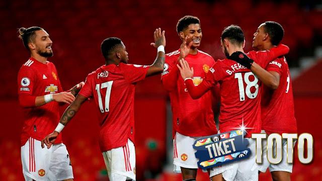Manchester United Fantastis di akhir tahun 2020