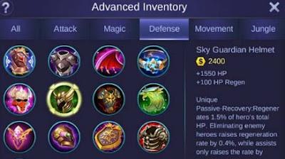 Penjelasan Item Terbaru Mobile Legends Secara Lengkap