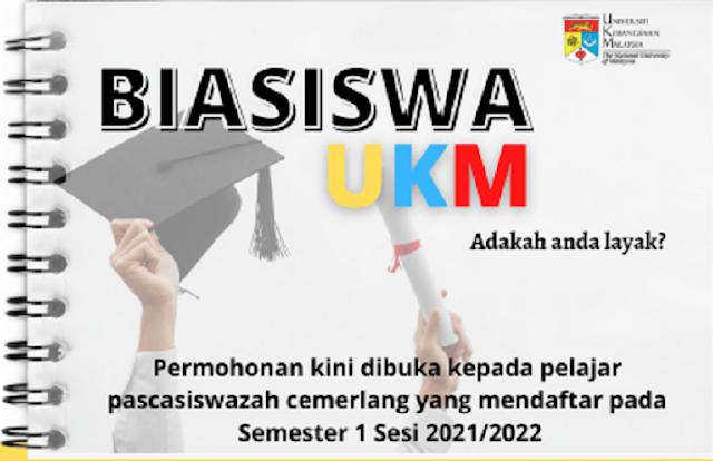 Beasiswa PhD / Doktoral / S3 di Universiti Kebangsaan Malaysia (UKM)