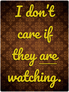 I don't care if they are watching, you are getting a spanking