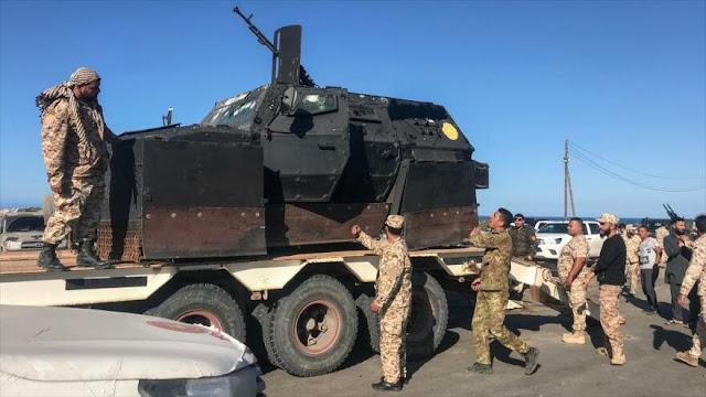 EEUU saca a sus tropas de Libia tras ofensiva militar de Haftar
