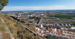Castillo o fortaleza de Sagunto. Sagunt. Provincia de Valencia.
