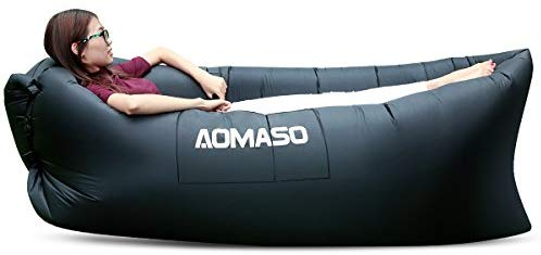 70% off for inflatable Lounger Air Sofa from the US warehouse