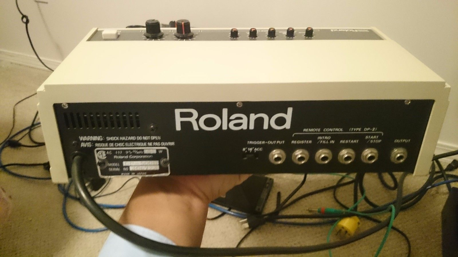 MATRIXSYNTH: Roland CR-5000 Analog Drum Machine Synthesizer with