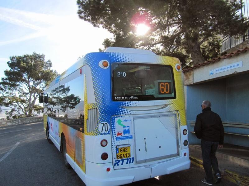 autobús 60 de Notre Dame de la Garde