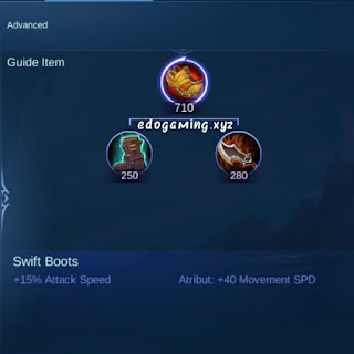 penjelasan lengkap item mobile legends item swift boots