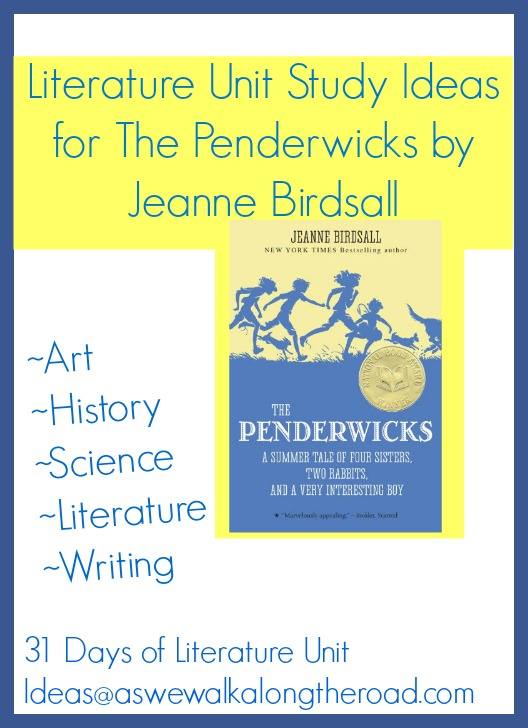 Literature unit study for The Penderwicks