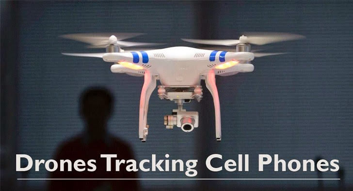 Drones Spying on Cell Phone Users for Advertisers
