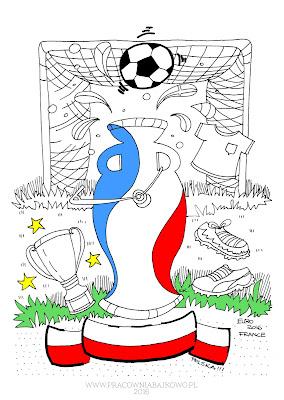 189* Euro 2016 * mistrzowska kolorowanka