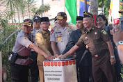 Pengukuhan Polresta Mataram, Kapolda NTB Tekankan Agar Bangun Hubungan Baik dengan Media