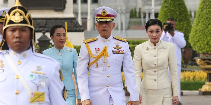 The king of Thailand married his bodyguard