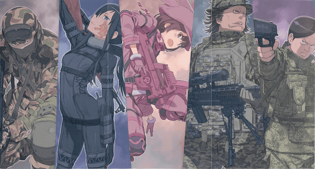 Sword Art Online Alternative: Gun Gale Online (Novela Ligera en español)