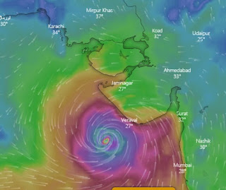 Gujarat Nisarga cyclone 2020 News Update