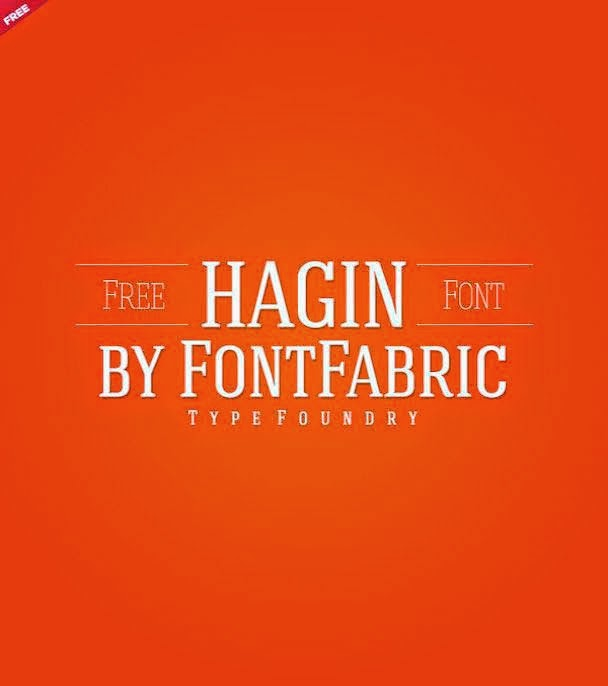 Hagin Serif font