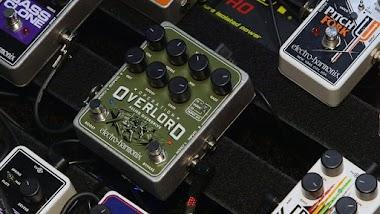 WOW, EHX Luncurkan Pedal Efek Overdrive Untuk Gitar, Bass, dan Keyboard