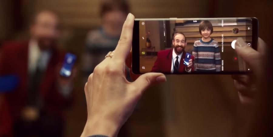 Canzone Samsung Pubblicità Galaxy S8 promo di Natale, Spot Dicembre 2017