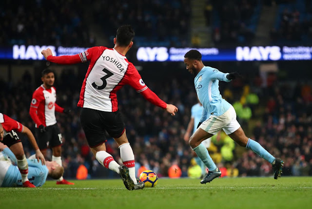 Raheem Sterling scores late winner to give Man city 2-1 win over Southampton