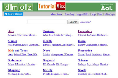 Dmoz tutorial 1