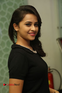 Actress Sri Divya Latest Pictures in Black Top  0084.JPG