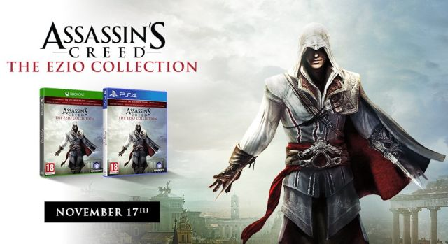 Se confirma The Ezio Collection para Xbox One y PS4