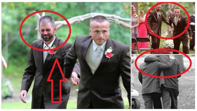 ΣΥΓΚΗΝΙΤΙΚΟ! Όλοι έκλαιγαν !! Ο πατέρας της νύφης διέκοψε τον γάμο και έφερε τον…