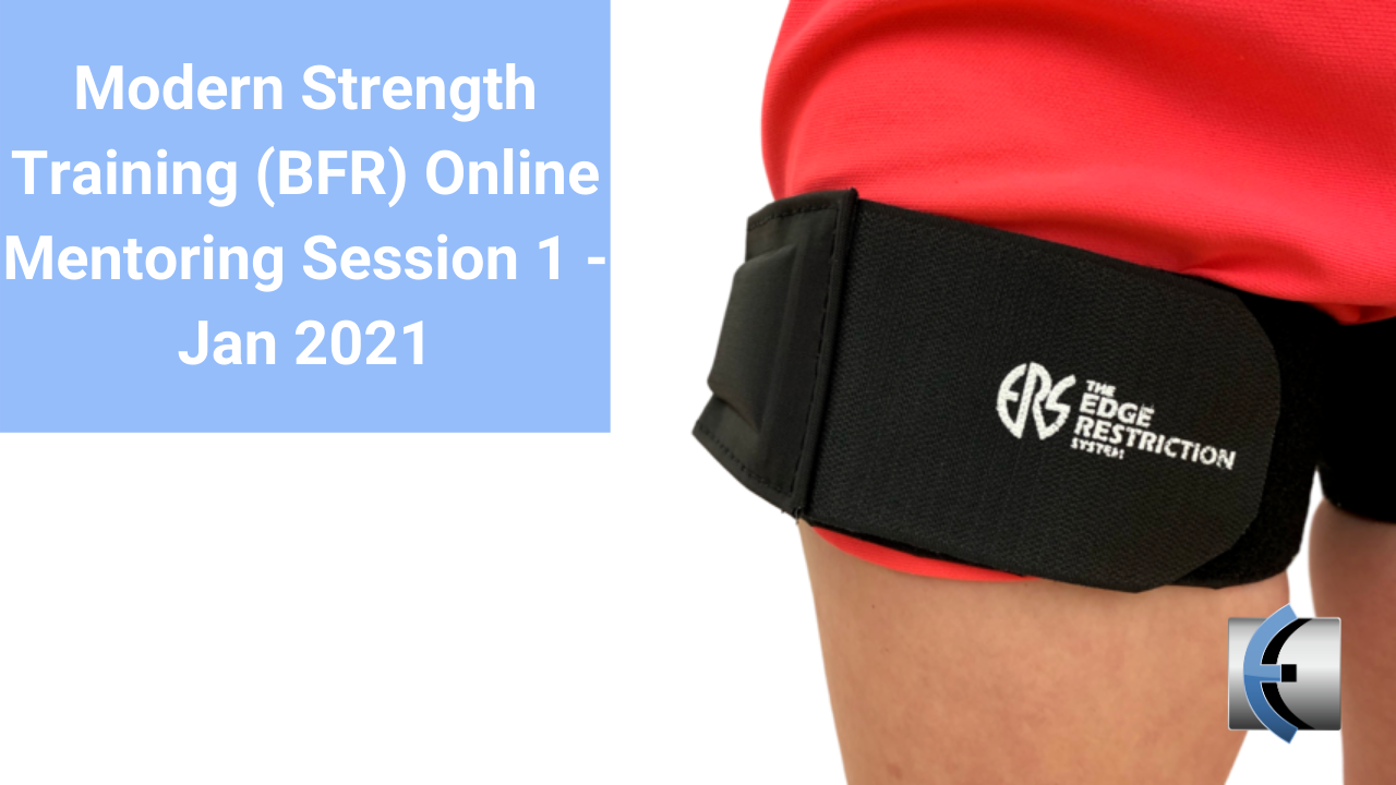 Modern Strength Training Online Mentoring Session 1 Jan 2021 - modernmanualtherapy.com