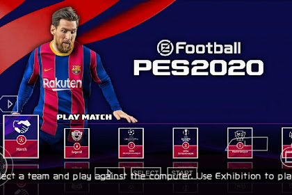 Download Efootball Pes 2020 Ppsspp For Android Camera Ps4 New TransferPemain