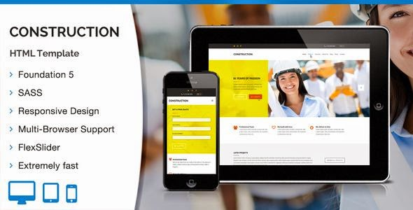 Best Construction HTML Template