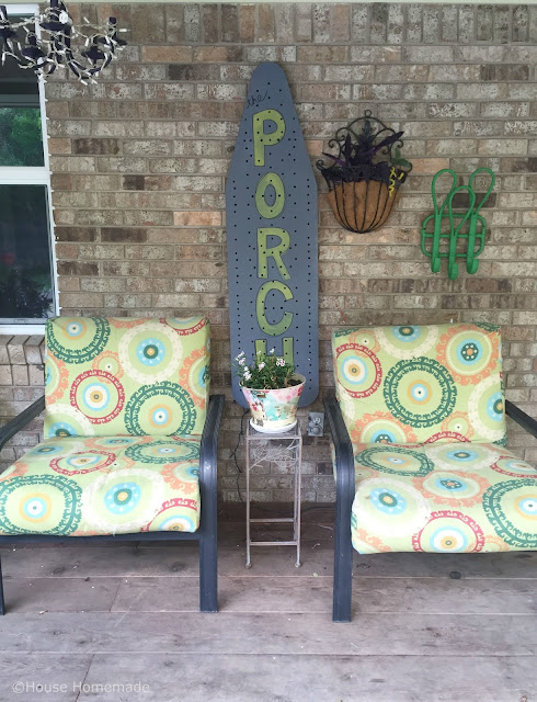 back porch- house homemade